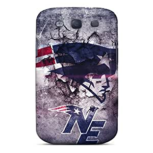 Samsung Galaxy S3 VEP3580TSVw Custom Stylish New England Patriots Skin Scratch Protection Hard Phone Cases -RitaSokul