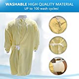 Isolation Gowns Washable Reusable 100 Wash Cycles