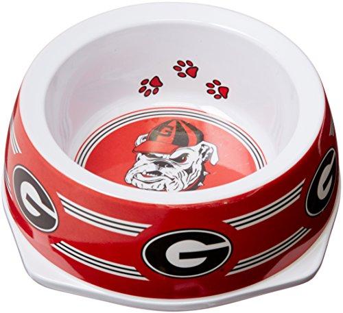Collar Bowl - Sporty K9 Collegiate Georgia Bulldogs Pet Bowl, Small
