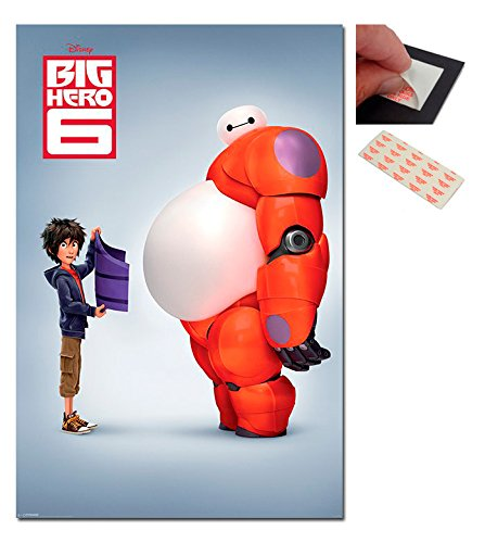 Bundle - 2 Items - Big Hero 6 Movie Teaser Poster - 91.5 x 6