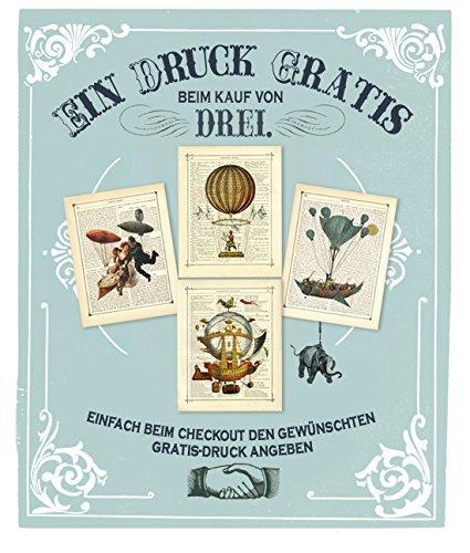 Skelett Herz Luftballon Gothic Kunstdruck auf viktorianischer Buchseite Geschenk Halloween Valentinstag Steampunk ungerahmt