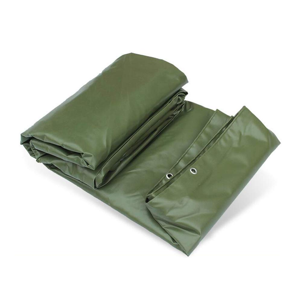 DALL ターポリン タープ PVC 防水 グランドシート カバー 保護 アルミニウムアイレット 650g / m2 (色 : Green, サイズ さいず : 3*4m) 3*4m Green B07KP1H7S5