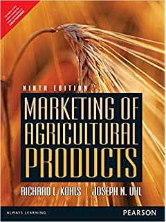 marketing of agricultural products 9th edition
