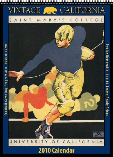 Vintage California Golden Bears 2010 Football Program (Bears 2010 Calendar)