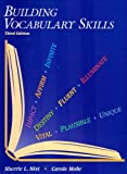 Building Vocabulary Skills, Sherrie L. Nist and Carole Mohr, 0944210120