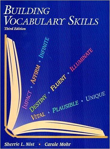 b6d2fad132ea Building Vocabulary Skills: Carole Mohr: 9780944210123: Amazon.com ...