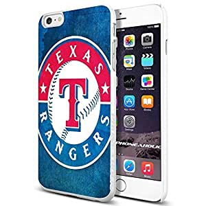 diy zhengMLB Texas Rangers logo Baseball,Cool Ipod Touch 4 4th Smartphone Case Cover Collector iphone TPU Rubber Case White