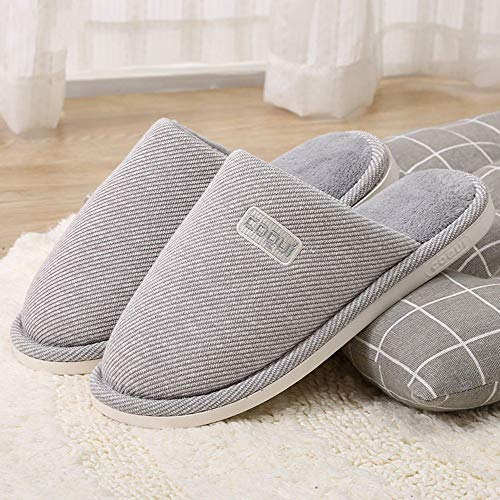 Piatte Per Calde Cotone Calzature Invernali Di Uomo Donna Interno Zlulu Casa Pantofole Scarpe Da POpUfwfq
