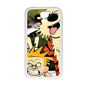 Naughty tiger and boy Cell Phone Case for Samsung Galaxy S4