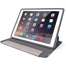 OtterBox SYMMETRY FOLIO SERIES Case for iPad Mini 1/2/3 - Retail Packaging - GLACIER STORM (WHITE/GUNMETAL GREY)