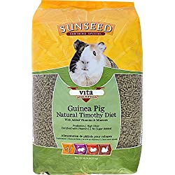 SUNSEED COMPANY 36146 1 Piece Vita Sunscription Timothy Guinea Pig Food Treat, 10 lb