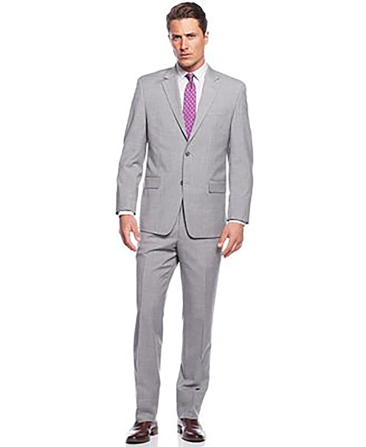 on sale Michael Michael Kors Light Grey Suit 44R / 37 Waist