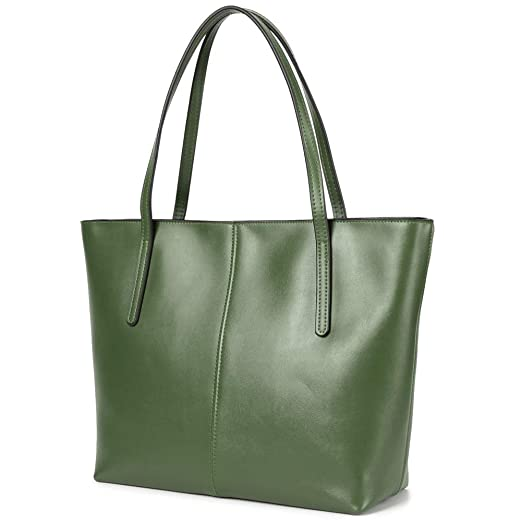 47c9189056c4 CHERRY CHICK Women's Geunine Leather Tote Bag Large Purse Hot Gift