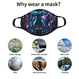 5 Pack Kids Mask Set Graphic Youth Face Cloth Mask