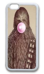 Apple Iphone 6 Case,WENJORS Awesome Chewie Soft Case Protective Shell Cell Phone Cover For Apple Iphone 6 (4.7 Inch) - TPU White