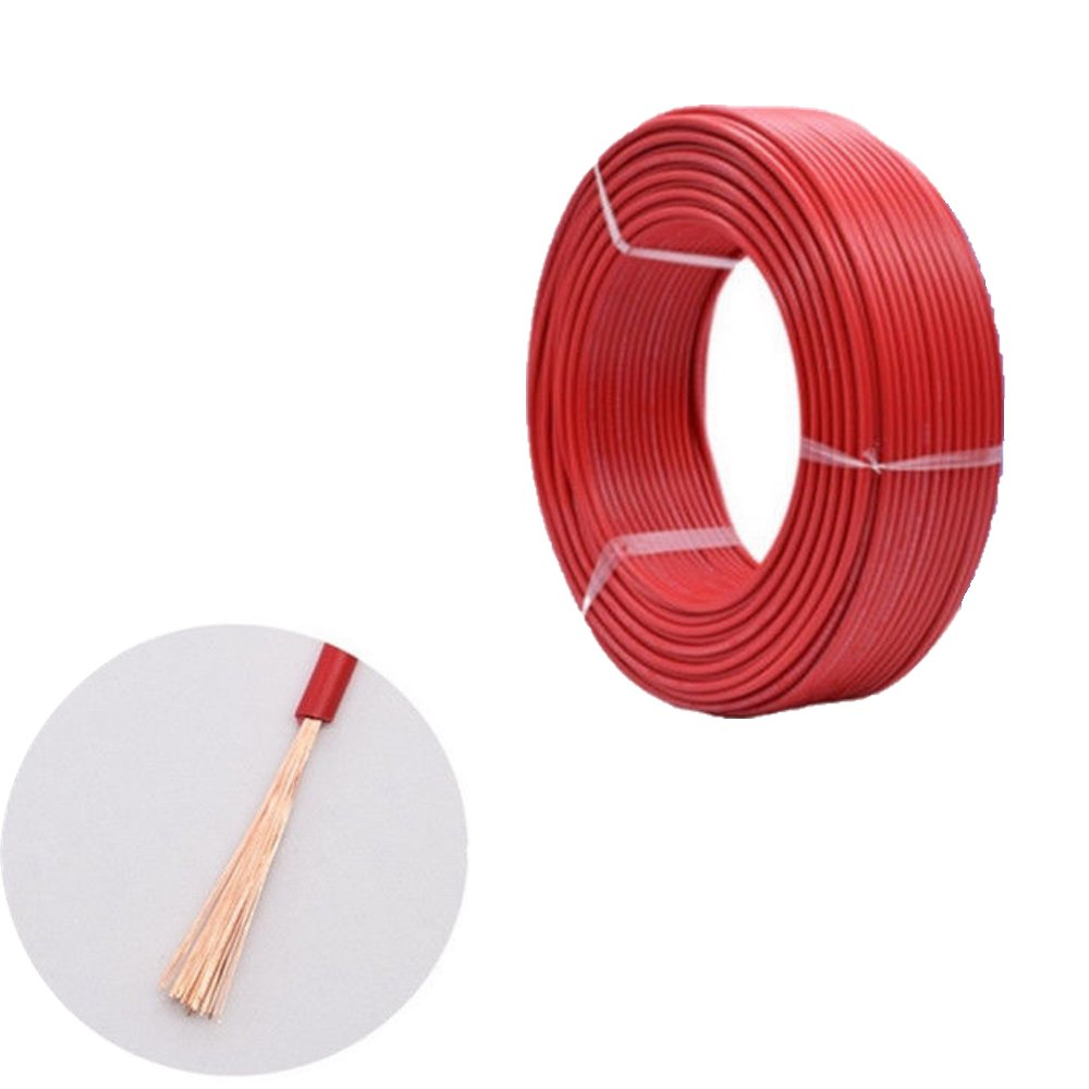 Black, 25Amps 2.0mm Wire4u 10M Thinwall Single Core Automotive Auto Car Marine Cable Wire Red Black 12V 24V 0.5mm-2.5mm 11Amp-28Amps