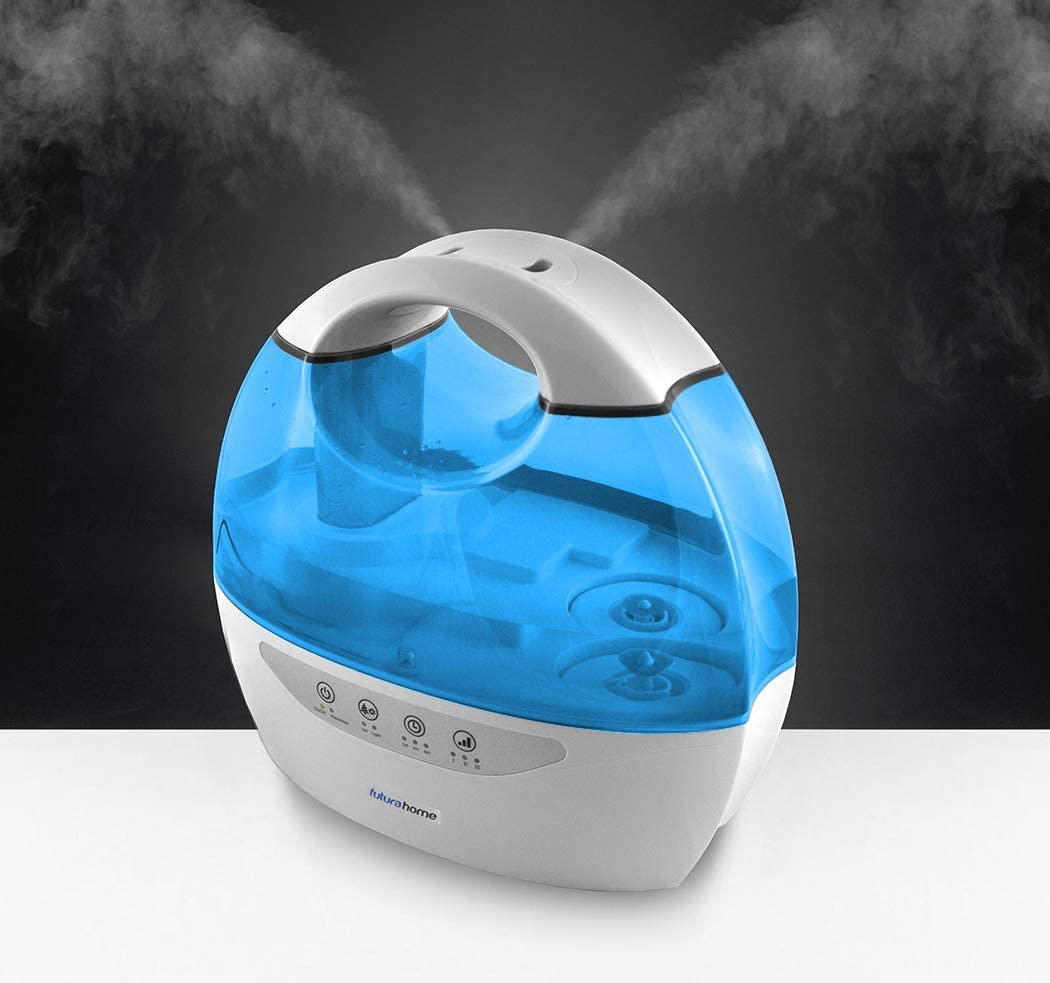 Futura Cool Mist Humidifier Ioniser & Timer Dual Output 6