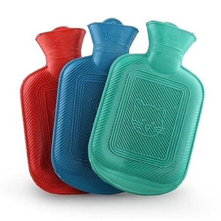 Amazon.com: VivReal Bolsa Botella de agua fría caliente de ...