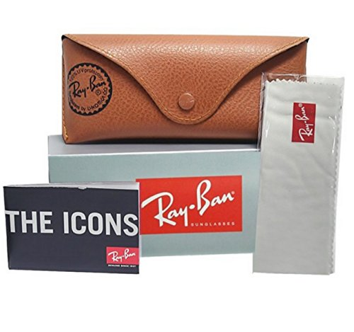Ray-Ban Carbon Fiber Brown Gradient Sunglasses RB 8301 004/51 59mm + SD Gift by Ray-Ban (Image #3)