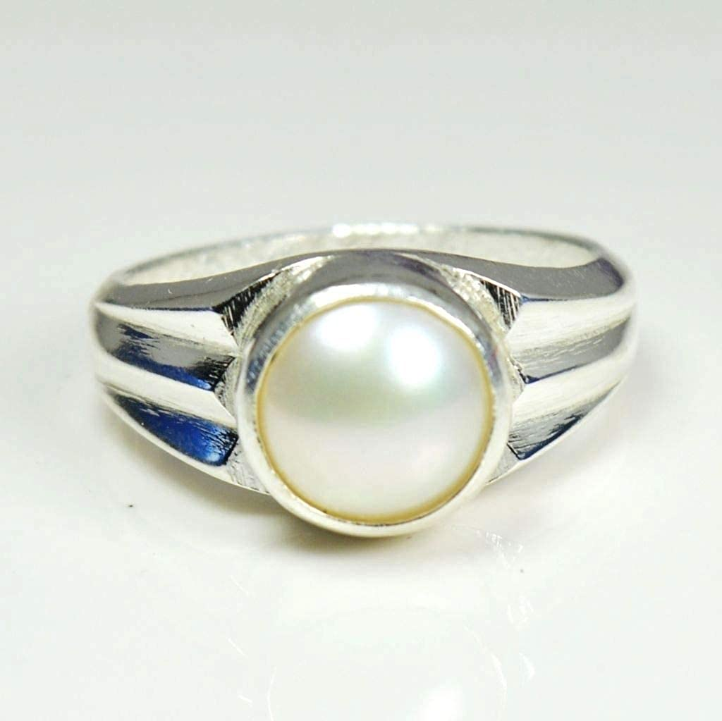 Gemsonclick Real Rainbow Moonstone Pendant for Women 925 Silver June Birthstone Chakra Healing Handmade