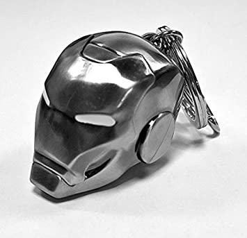 Llavero/Clip de Bolso Marvel Casco de Iron Man - Mark II/El ...