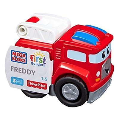 安い Mega Bloks Firefighting Freddy Building Kit: Toys