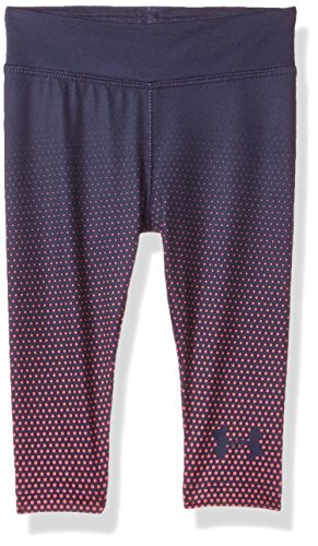 Under Armour Baby Girls Core Active Capri Legging, Midnight Navy, 18M (Clothes Capri Girls Baby)