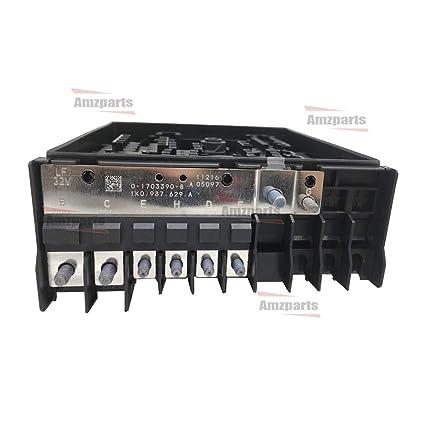 Terrific Amazon Com Amzparts Relay Fuse Box Board For Jetta Golf Mk5 Eos Wiring 101 Vihapipaaccommodationcom