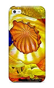 Brand New 5c Defender Case For Iphone (glass Art )