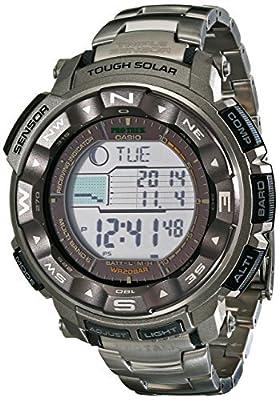 Casio Men's Pro Trek PRW2500T Tough Solar Digital Watch from Casio