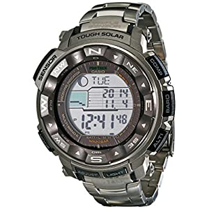 Casio Men's Pro Trek PRW2500T Tough Solar Digital Watch