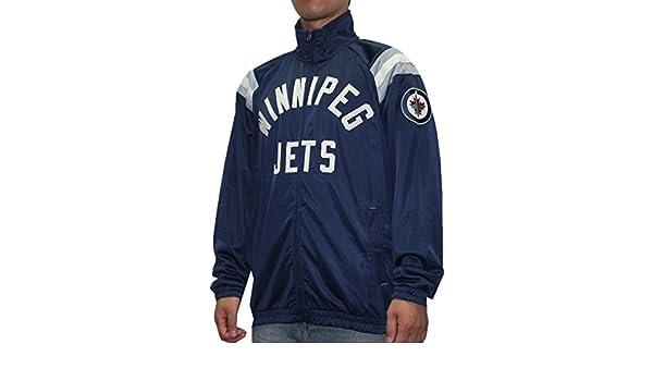 WIN Jets NHL Mens atlético con cremallera chaqueta de ...