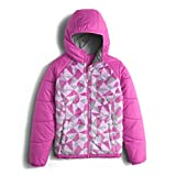 The North Face Reversible Perseus Jacket Girls' Wisteria Purple Triangle Camo Large