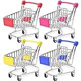 Bestsupplier Mini Supermarket Handcart, 4 Pcs