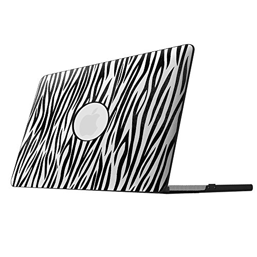 Zebra Hard Case Cover (Fintie MacBook Pro 13 Retina Case - Ultra Slim Lightweight PU Leather Coated Plastic Hard Cover Snap On Protective Case for MacBook Pro 13.3
