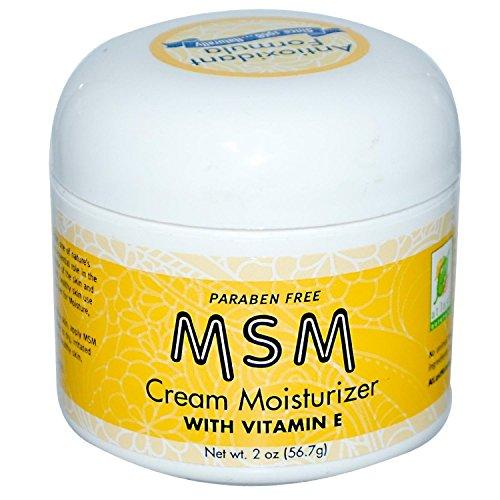 Msm cream for skin