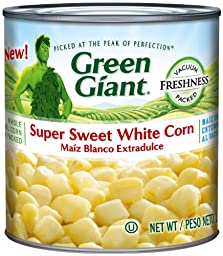 Green Giant Super Sweet White Corn, 11-Ounce (Pack of 12)