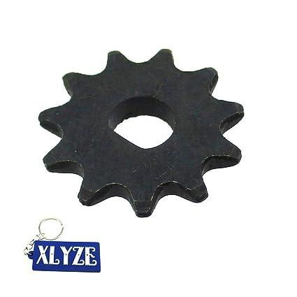 XLYZE 11 dientes 25H piñón del piñón del engranaje del motor de cadena para el motor scooter eléctrico MY1020