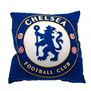 Chelsea F.C. Cushion- square cushion- approx 40cm x 40cm- with a swing tag- Official Football Merchandise