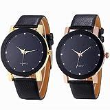 Han Shi Luxury Watch, Fashion Round Quartz Sport Military Leather Band Wristwatch Clearance