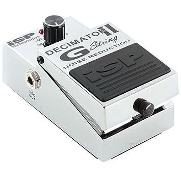 ISP Decimator II G-String Pedal · Pedal guitarra eléctrica: Amazon.es: Instrumentos musicales