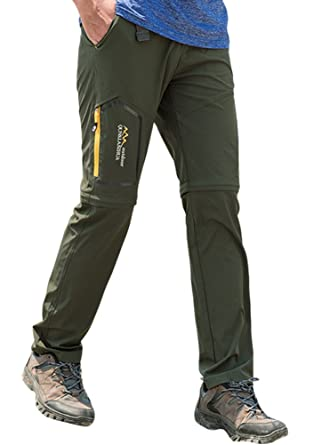 5704c496 Women's Hiking Pants Convertible Quick Dry Lightweight Zip Off Fishing  Travel Cargo Pants