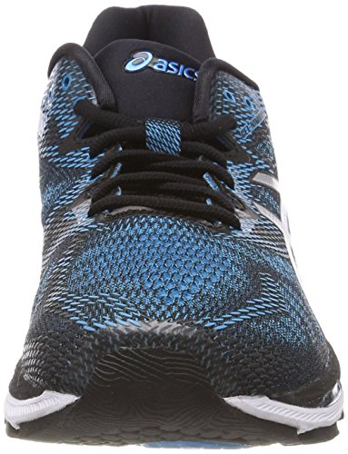 ASICS Men's Gel-Nimbus 20, Island Blue/White/Black, 27 cm