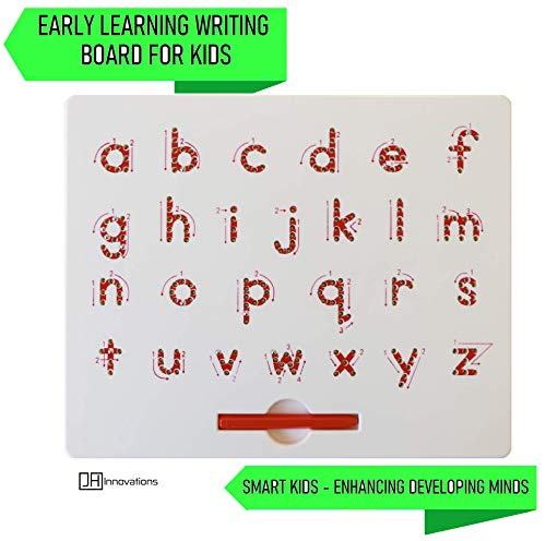 Magnetic Drawing Board | ABCD Lowercase Alphabetic Letters Sketcher| 12.4