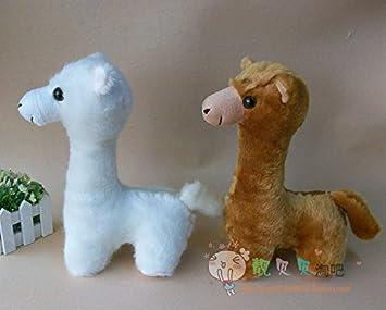 Amazon.com: Barato de peluche Alpaca gamuza de muñeca ...