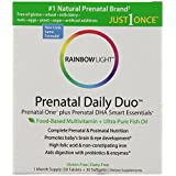 Rainbow Light Complete Prenatal, Prenatal One Mulitvitamin and DHA250 Smart Essentials, 30 Tablets and 30 Softgels
