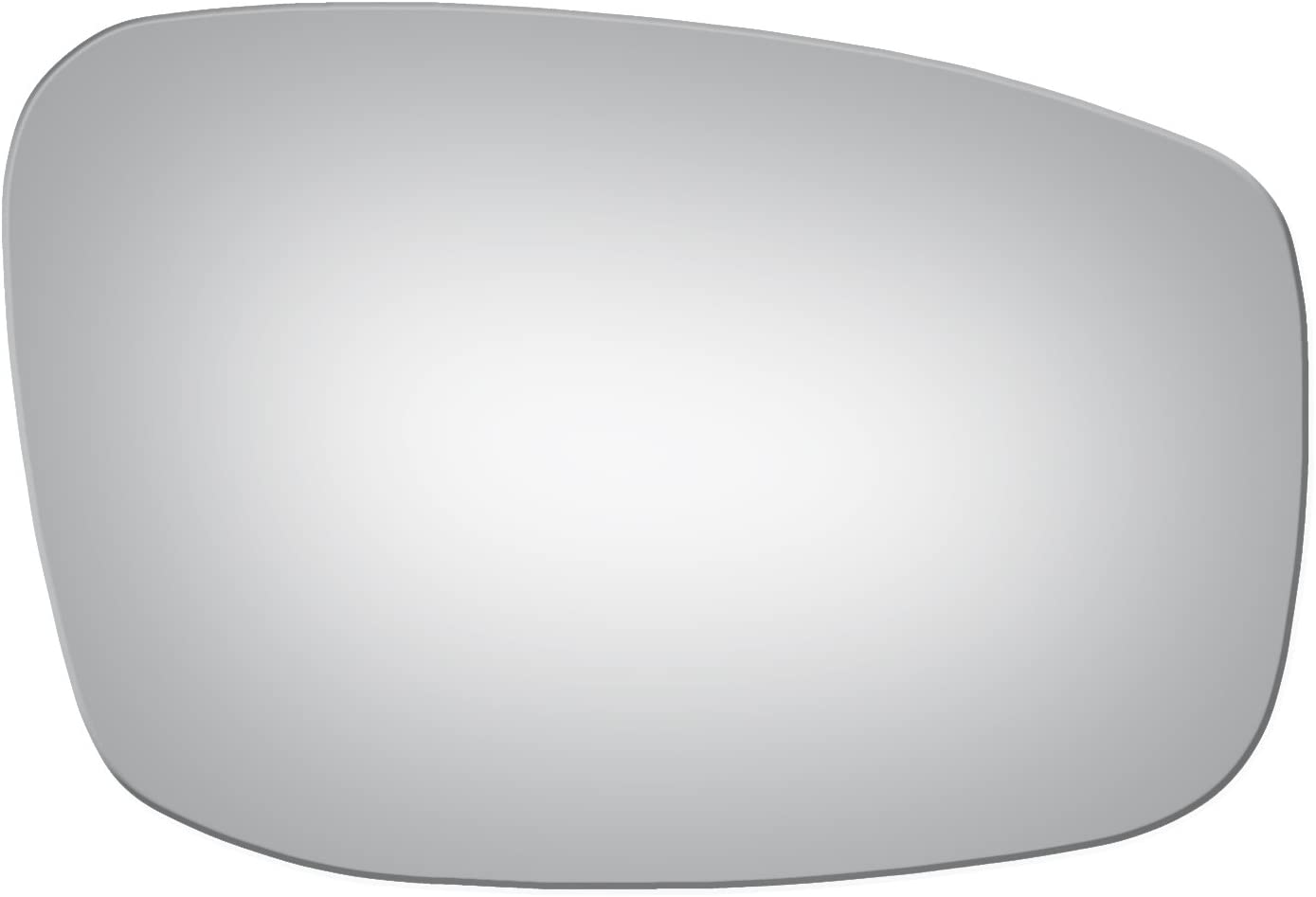 Burco 5323 Convex Passenger Side Replacement Mirror Glass for Infiniti G37 Q40 2008, 2009, 2010, 2011, 2012, 2013, 2014, 2015