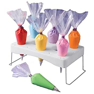 Cake Decoration Bag Holder Pastry Bay Tray Bake Tool Stand BML Brand // Pastel de