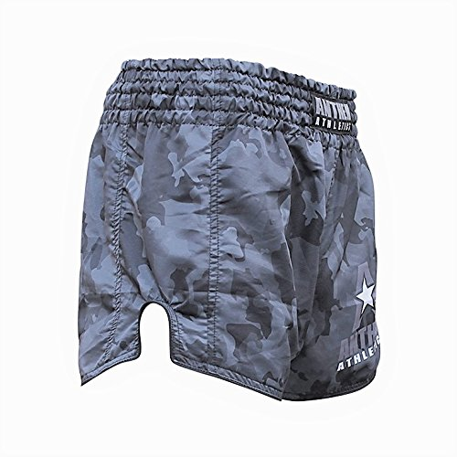 NEW! 10+ Styles - Anthem Athletics RECKONER Retro Muay Thai Shorts - Kickboxing, Thai Boxing - Night Camo - Small
