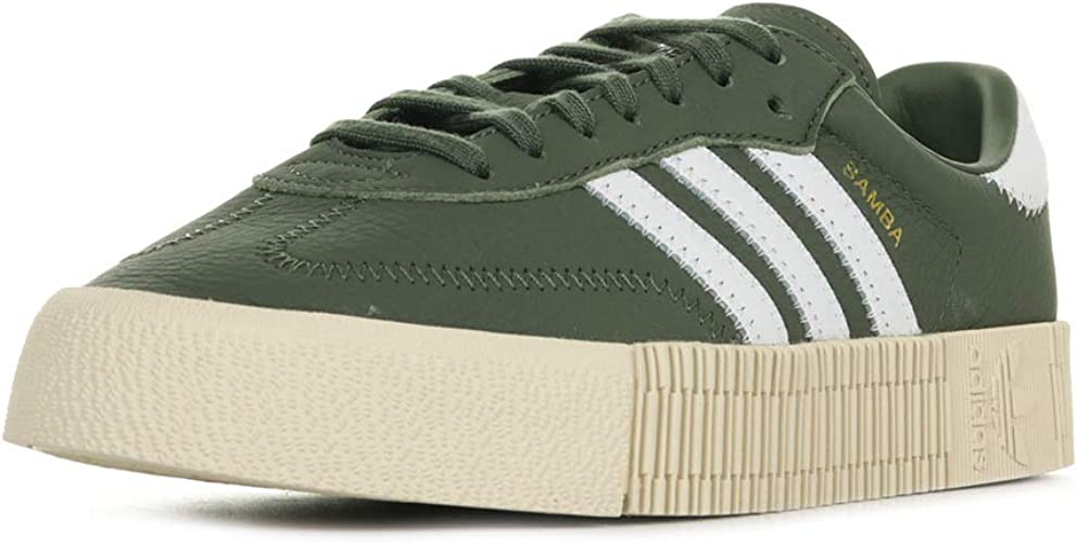 En todo el mundo cortador marca  adidas Women's Sambarose W Trainers Green, 9 UK: Amazon.co.uk: Shoes & Bags